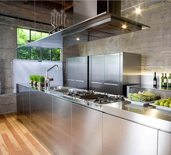 Steel Kitchen Interior photo - 9