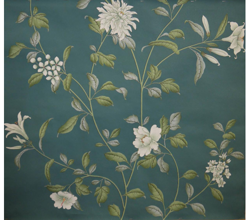 Wall with Chinese Wallpaper Design photo - 8