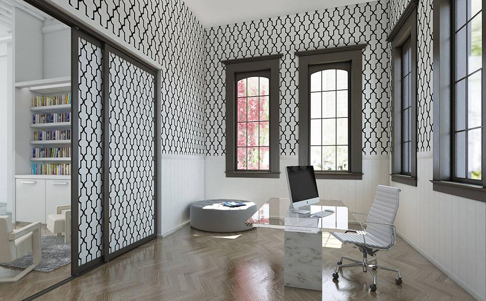 Wallpaper Room Divider photo - 7
