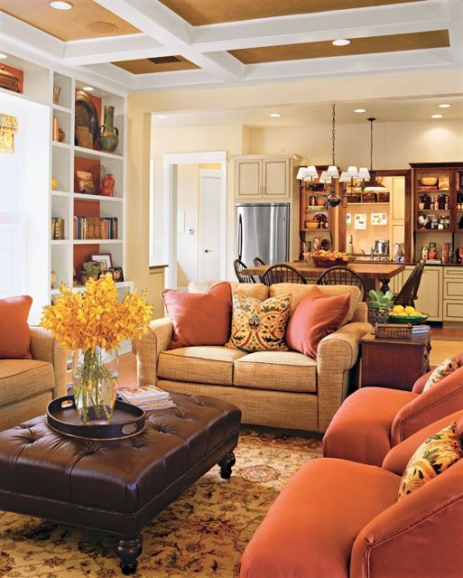 Warm Living Room photo - 4