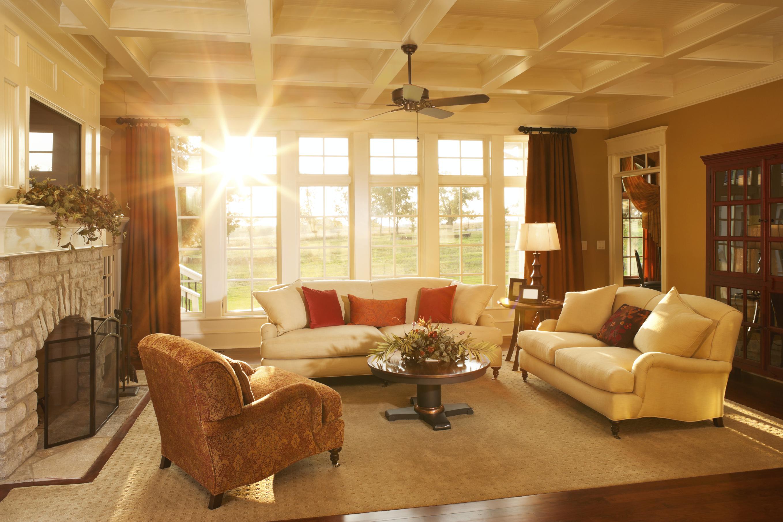 Warm Living Room photo - 7