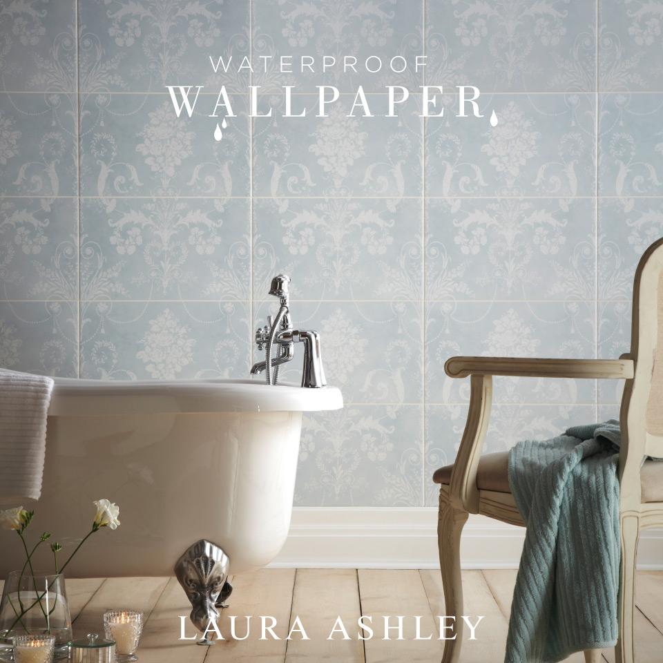Waterproof Wallpaper for Bathrooms photo - 2