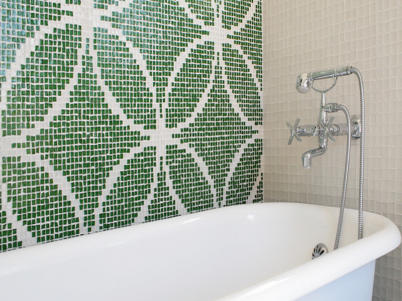 Waterproof Wallpaper for Bathrooms photo - 3
