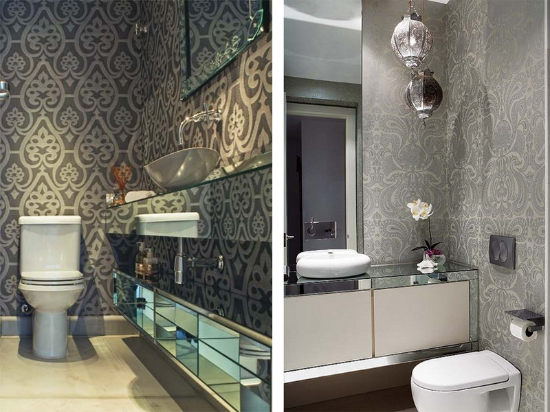 Waterproof Wallpaper for Bathrooms photo - 5