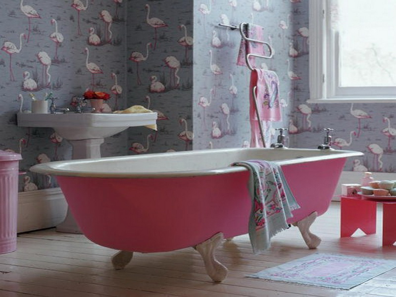 Waterproof Wallpaper for Bathrooms photo - 6