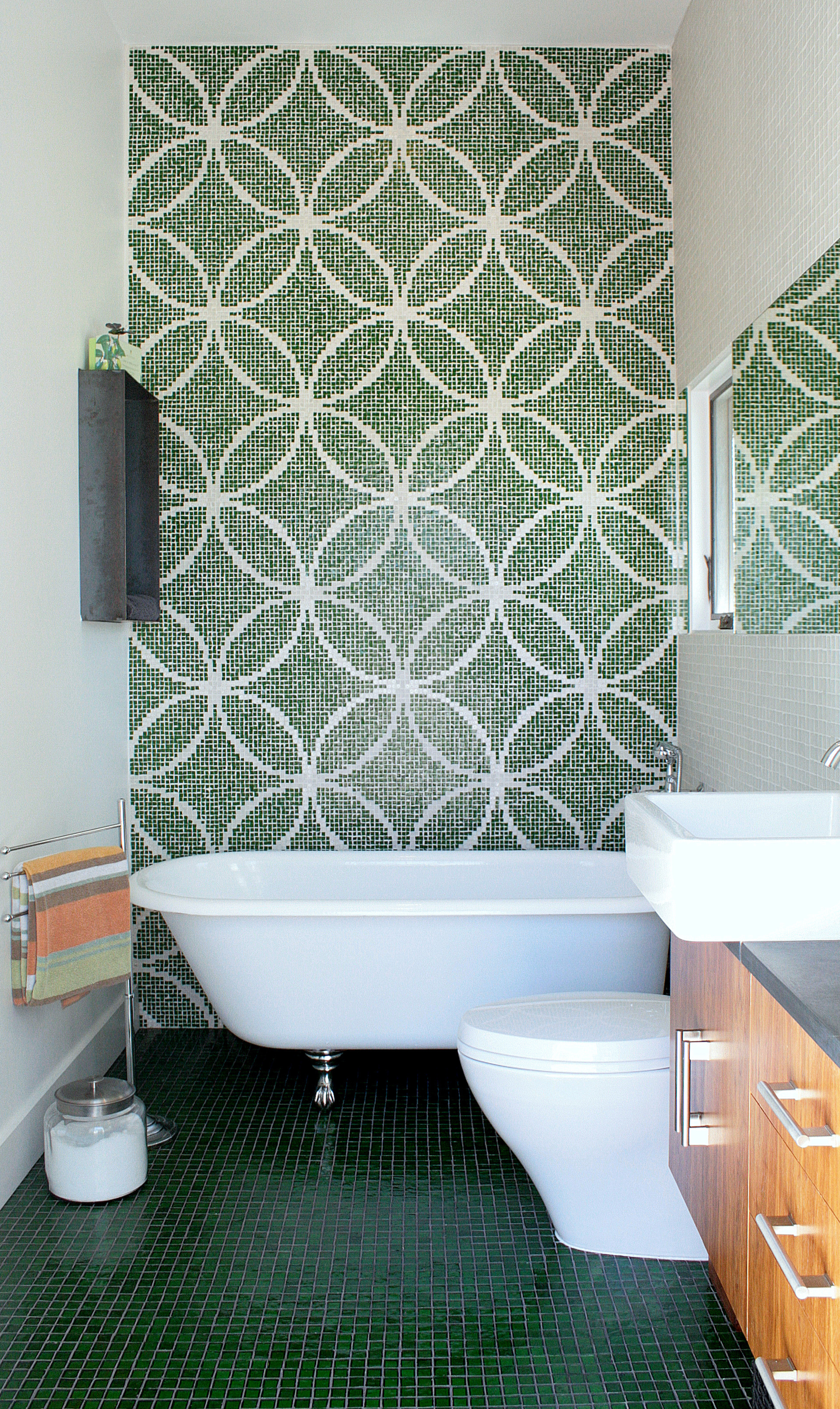 Waterproof Wallpaper for Bathrooms photo - 7
