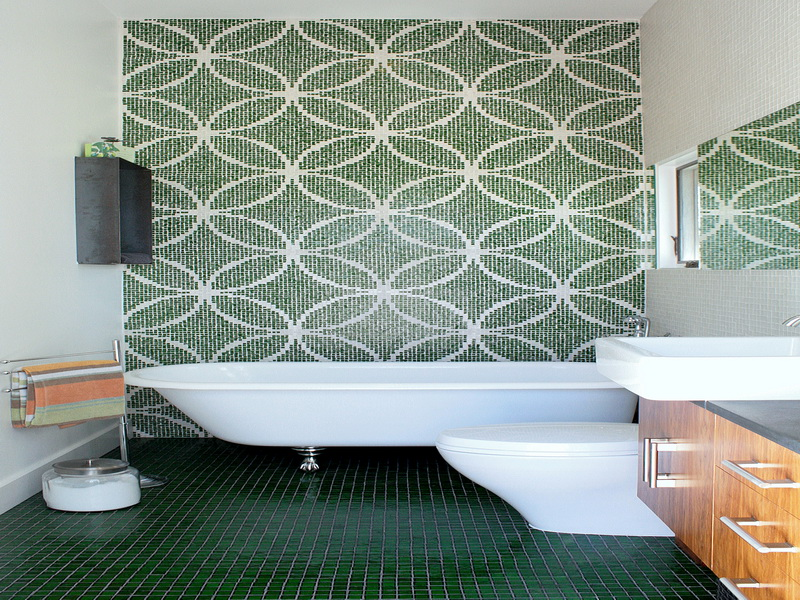 Waterproof Wallpaper for Bathrooms photo - 8