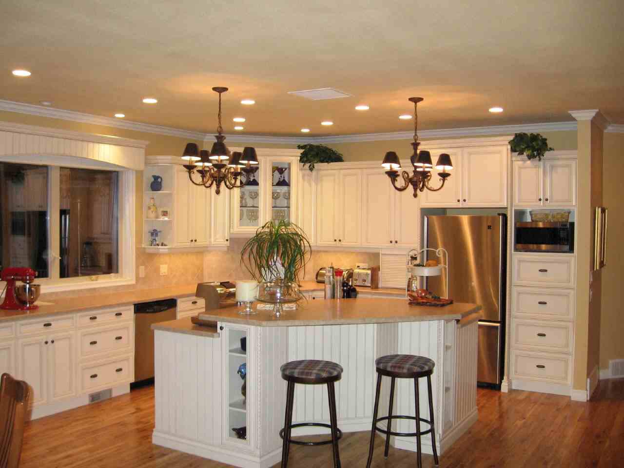 White Kitchen Interior photo - 1