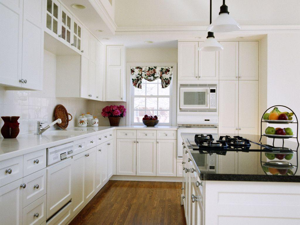 White Kitchen Interior photo - 10