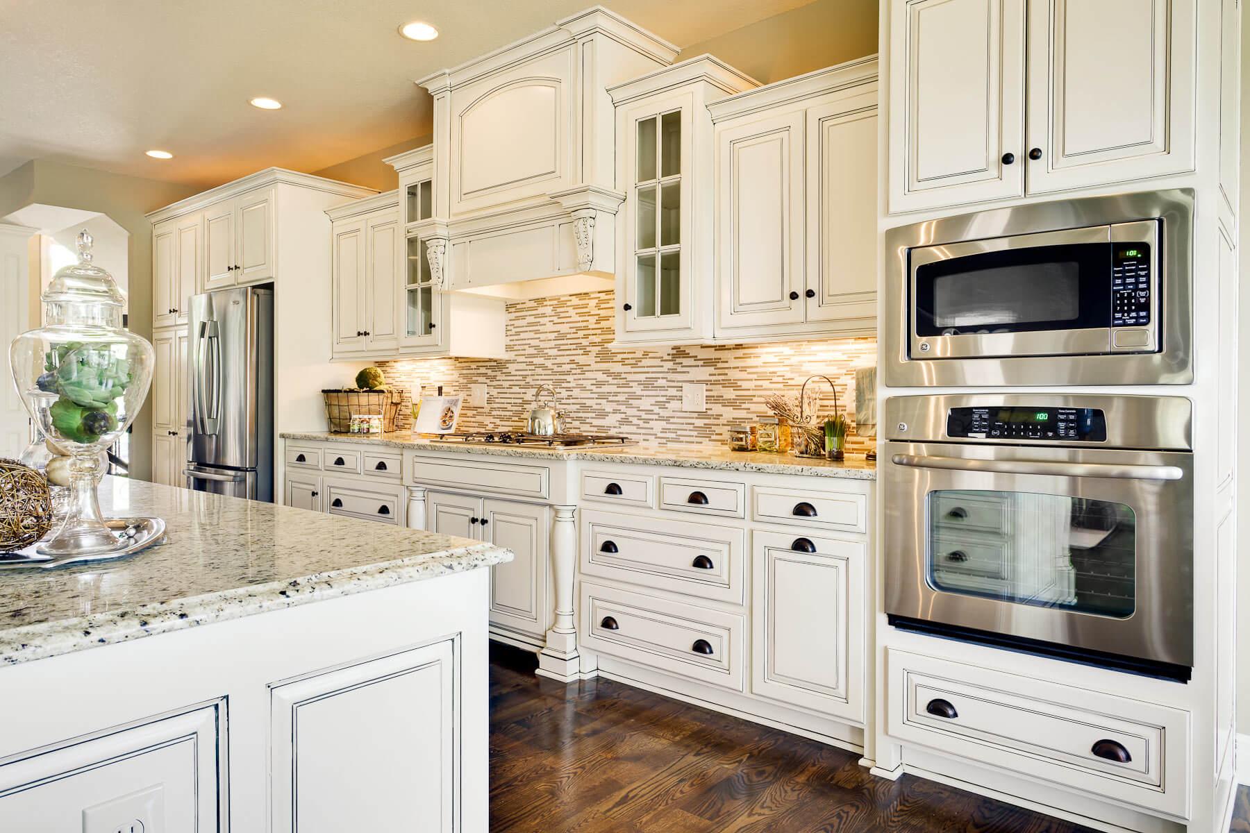 White Kitchen Interior photo - 3