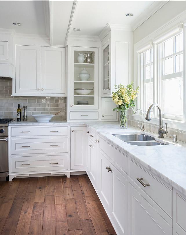 White Kitchen Interior photo - 4