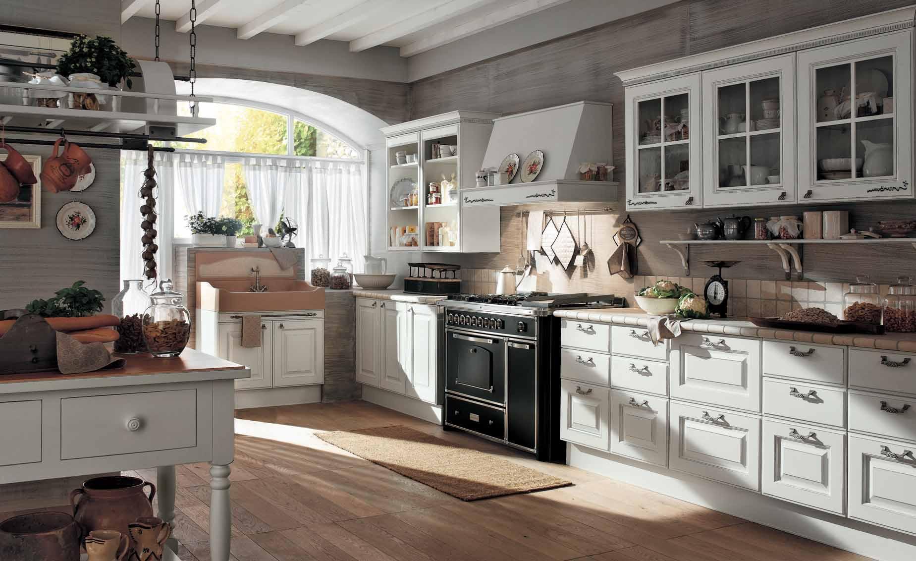 White Kitchen Interior photo - 6