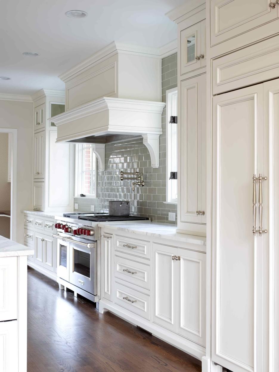 White Kitchen Interior photo - 8