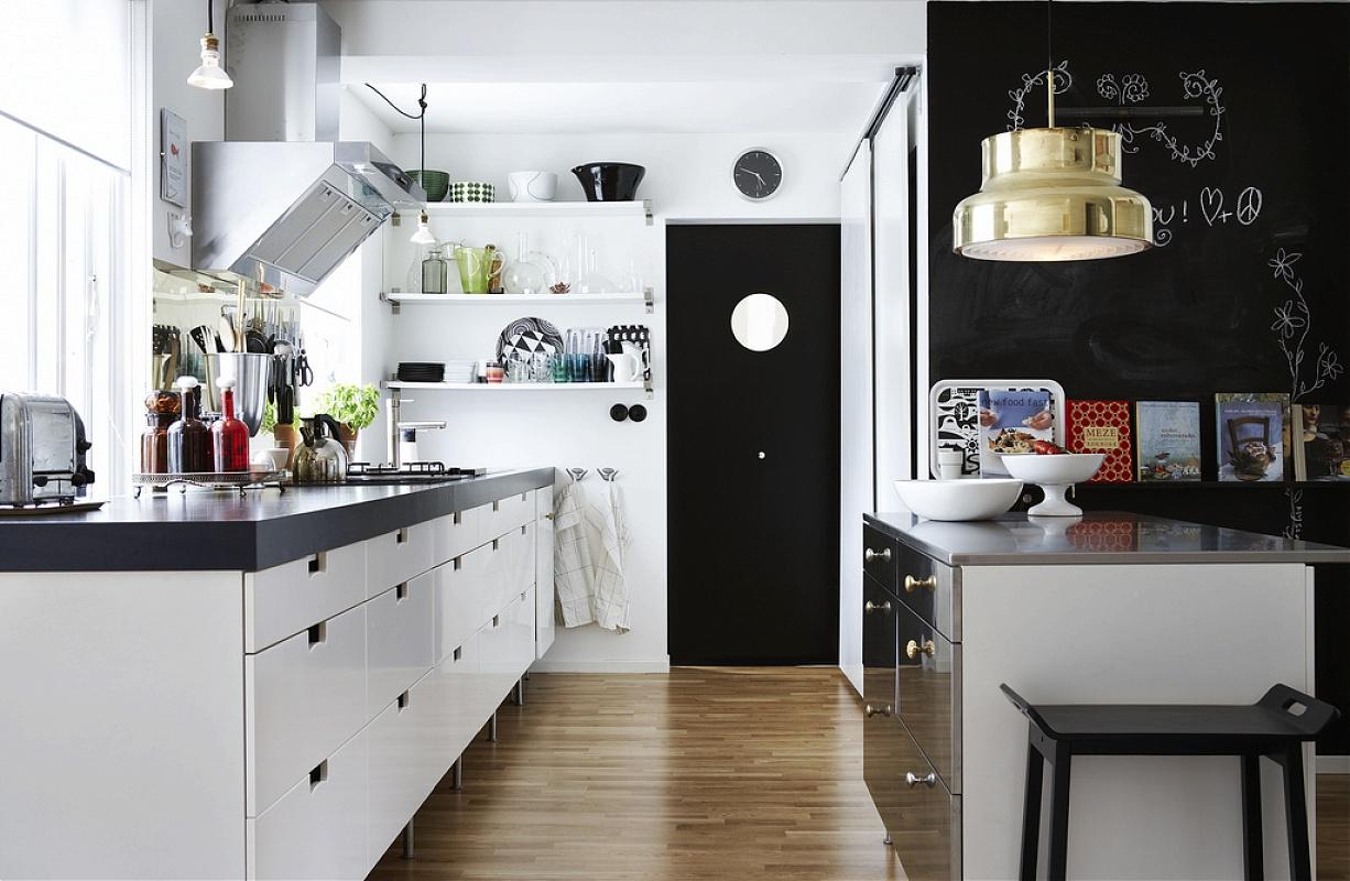 White Kitchen Interior photo - 9