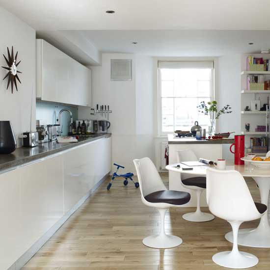 White Modern Kitchen photo - 9