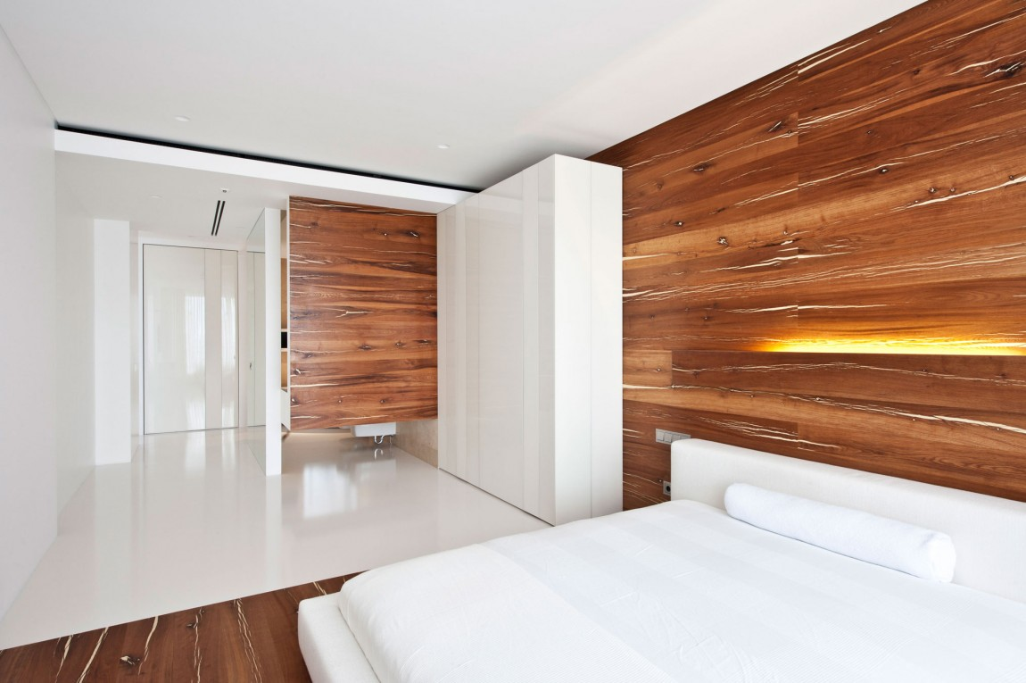 White and Wood Bedroom Hawk Haven