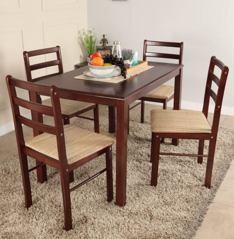 Wooden Dining Table Set photo - 10