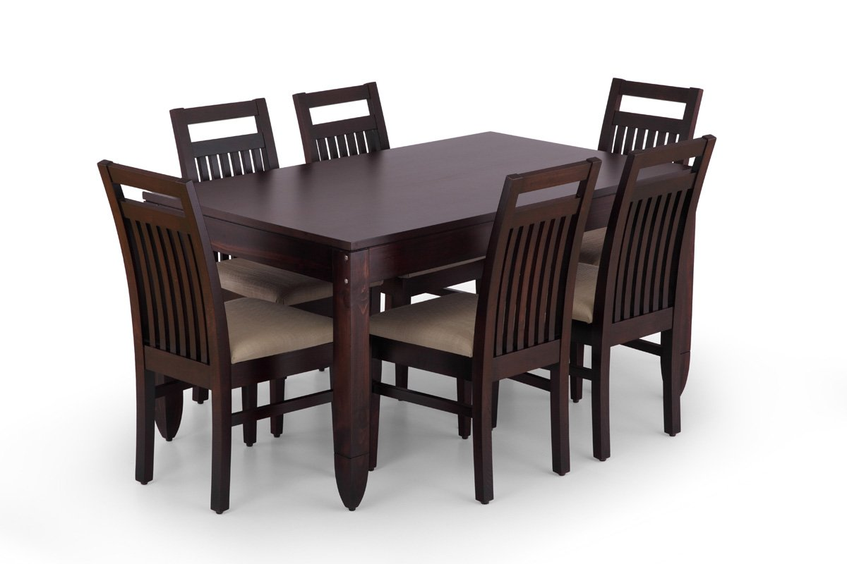 Wooden Dining Table Set photo - 4