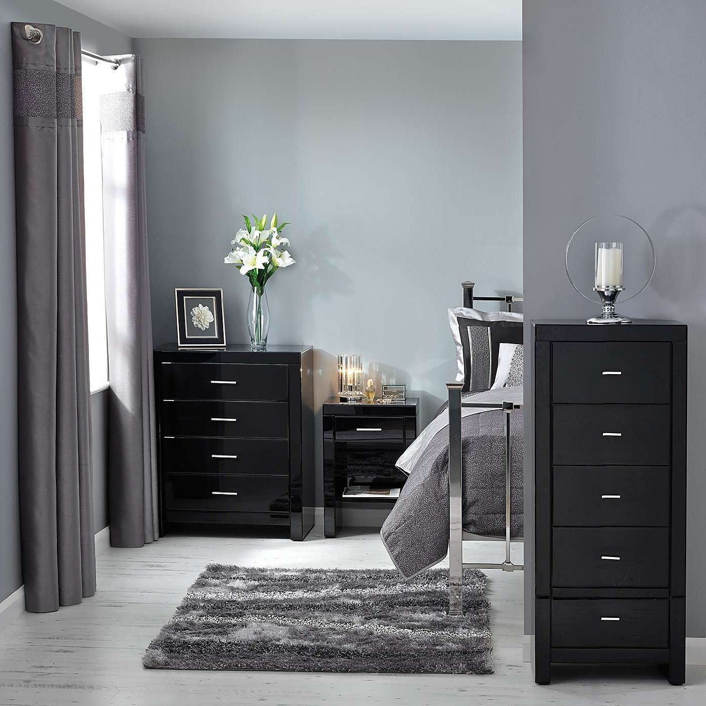 affordable mirrored bedroom furniture | hawk haven