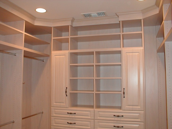 affordable walk in closet design photo - 2