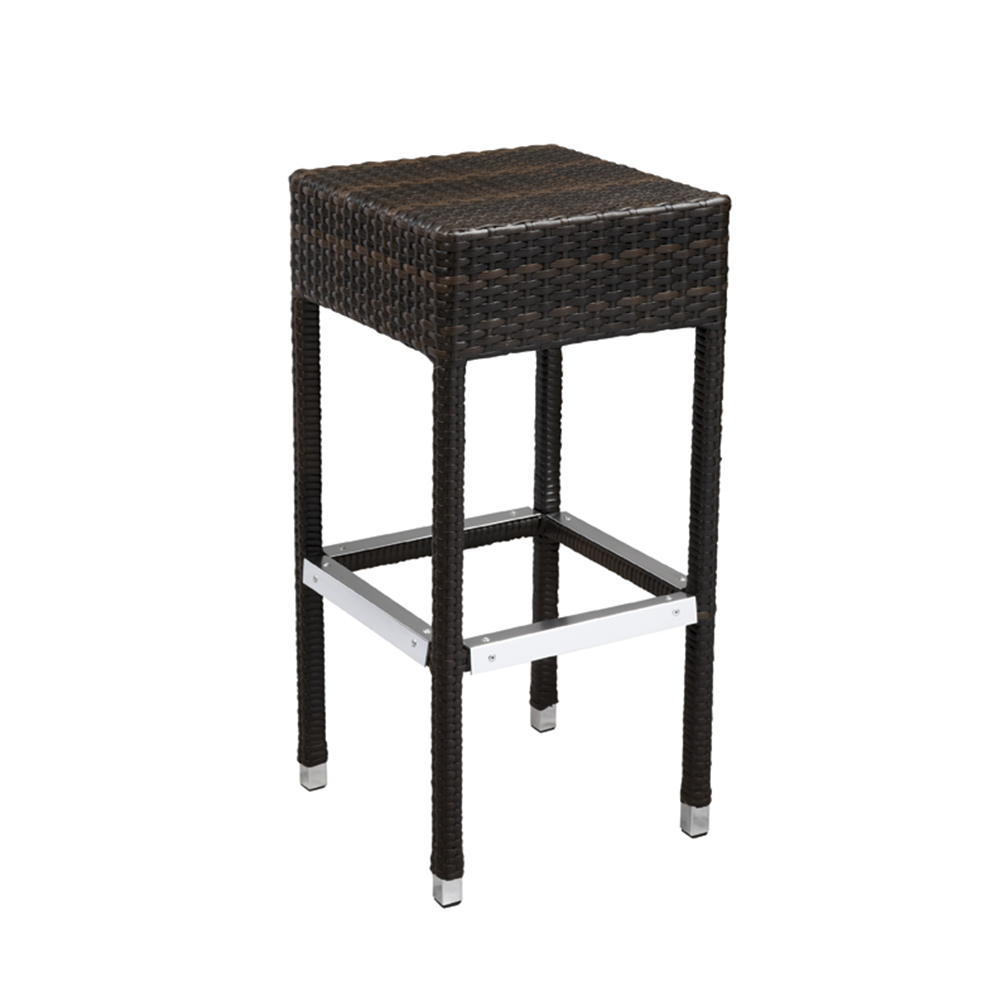 aluminum bar stools backless photo - 4