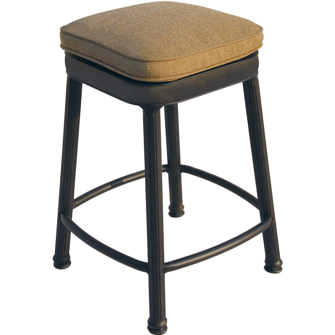 aluminum bar stools backless photo - 6
