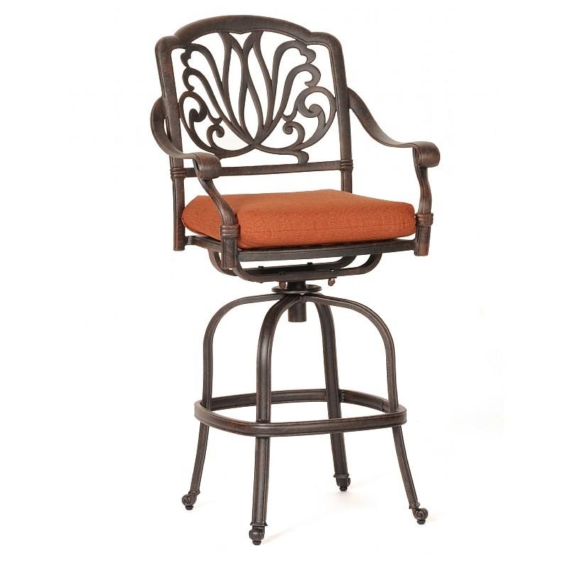 aluminum bar stools outdoor hawk haven