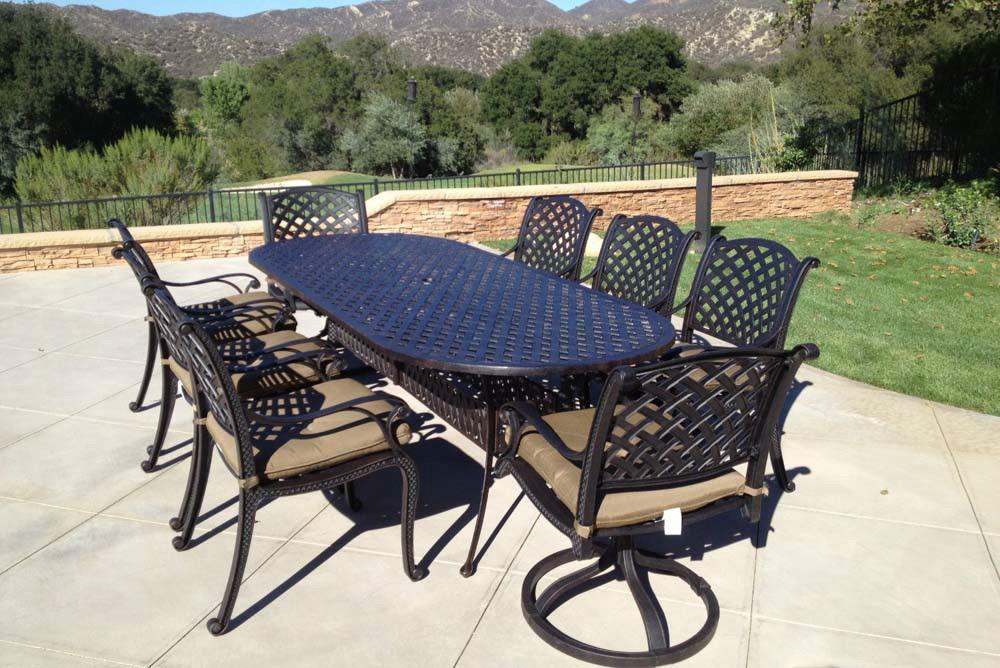 aluminum patio furniture rust photo - 6