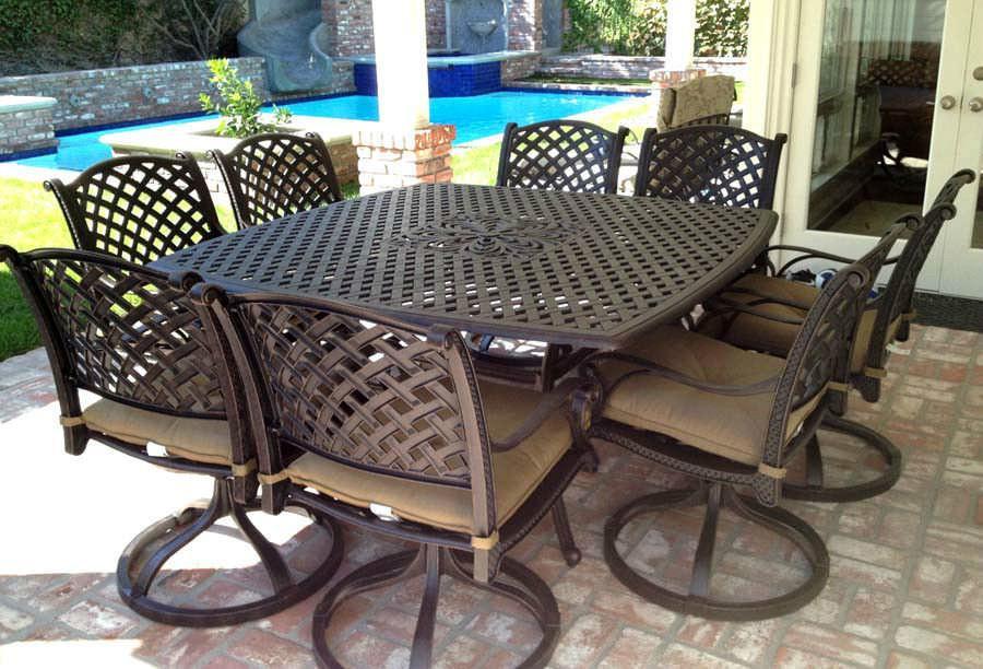 aluminum patio furniture rust photo - 7