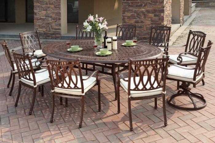 aluminum patio furniture rust photo - 8