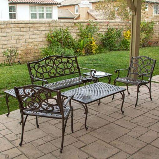 aluminum patio furniture target photo - 8
