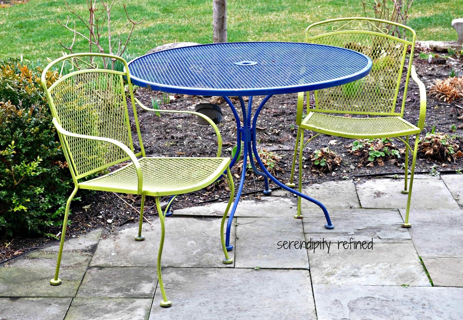 aluminum patio furniture touch up paint photo - 6