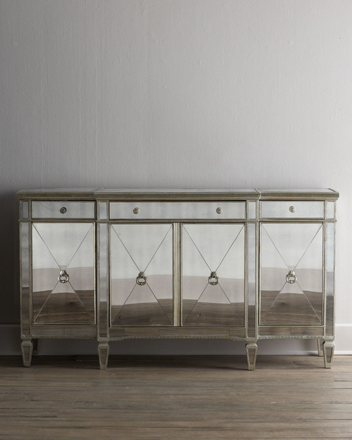 amelie mirrored bedroom furniture photo - 10