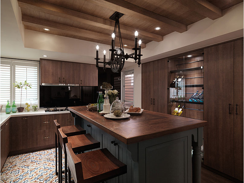 american country kitchen designs photo - 6