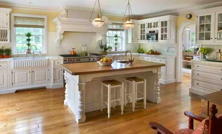 american country kitchen designs photo - 7
