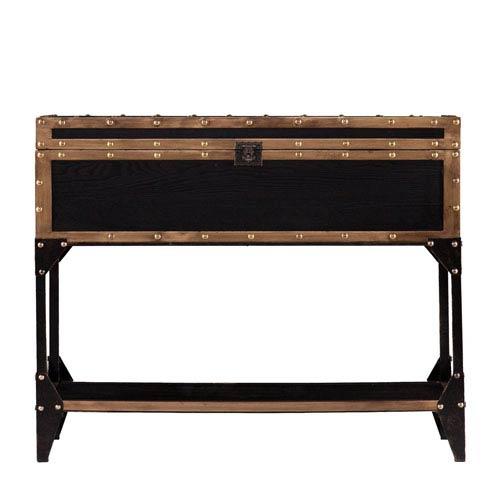 antique black sofa table photo - 10