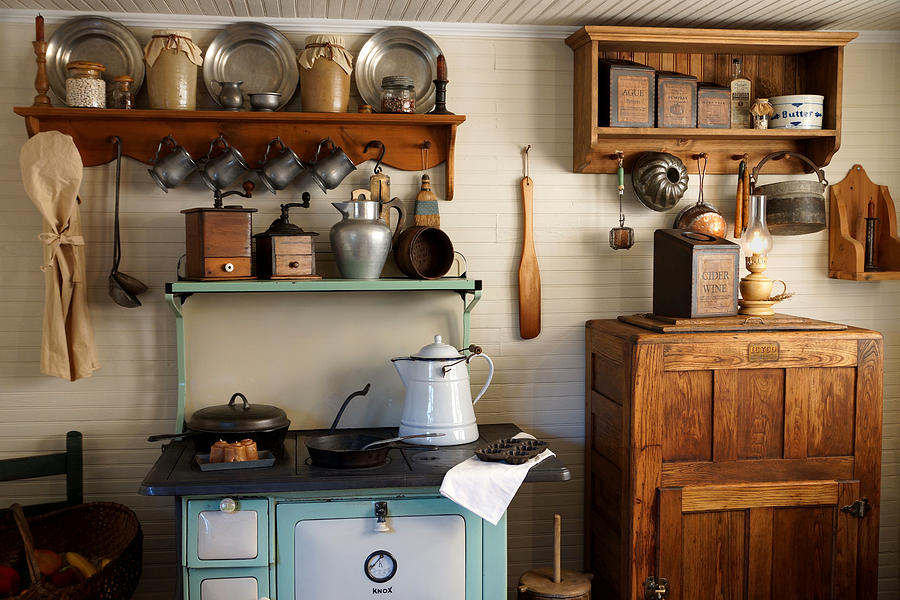 Antique Country Kitchen Designs Hawk Haven Delectable Antique Kitchen Design