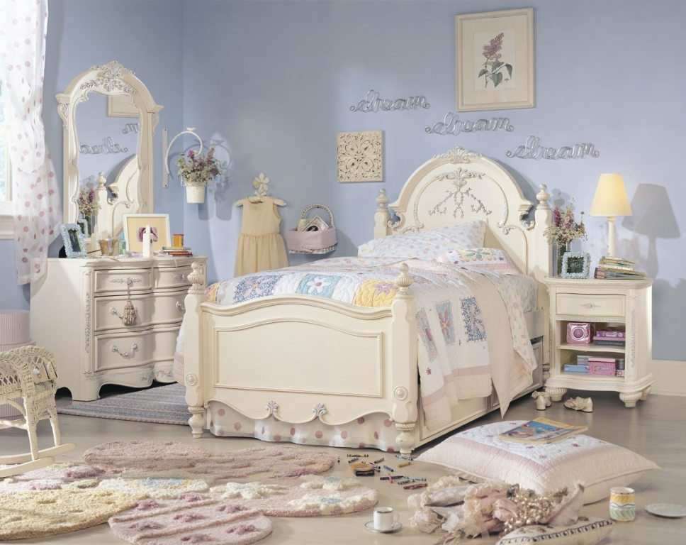 Antique white bedroom furniture for girls - Antique White Bedroom Furniture For Girls Hawk Haven