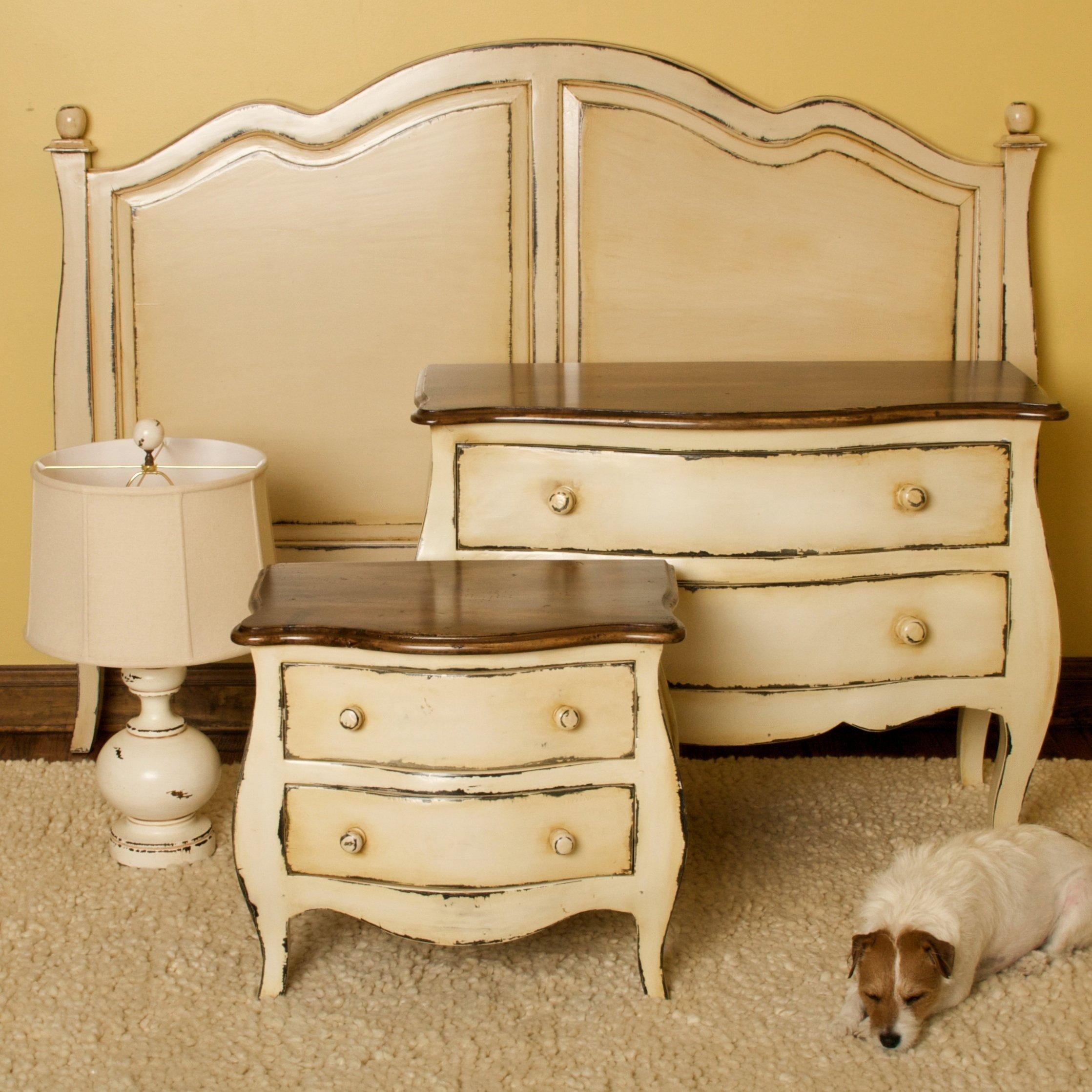 Antique white bedroom furniture for kids | Hawk Haven