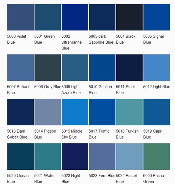 asian paints colour shades blue photo - 1