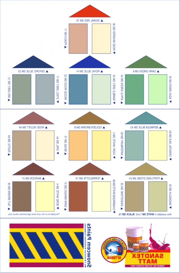Asian paints colour shades exterior wall paint color ideas for Berger paints shade card for exterior walls