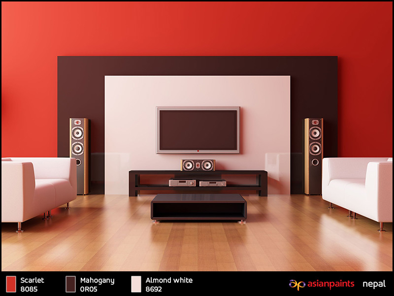 asian paints colour shades interior photo - 1