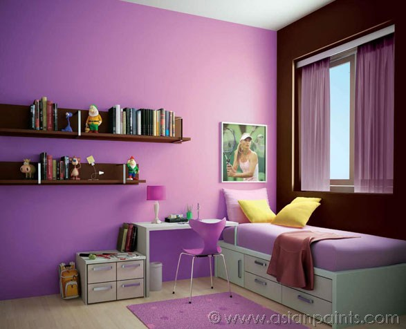 asian paints colour shades interior photo - 5