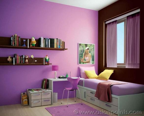 Asian Paints Colour Shades Interior Walls Photo   6