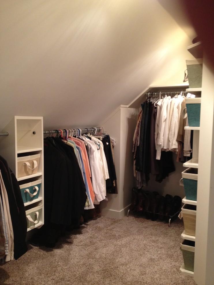 attic bedroom closet photo - 6