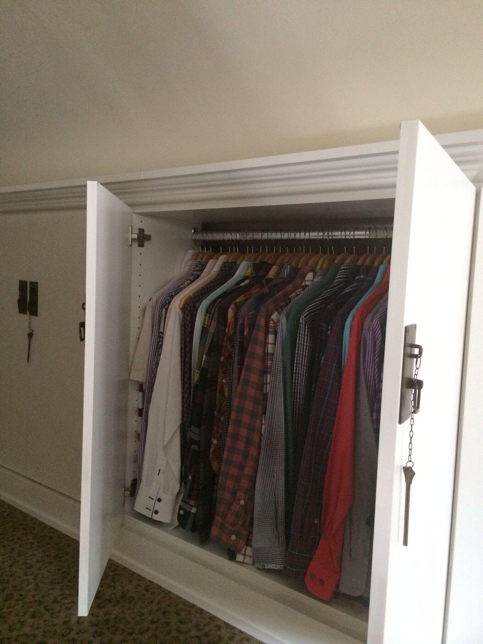 Attic Bedroom Closet Solutions