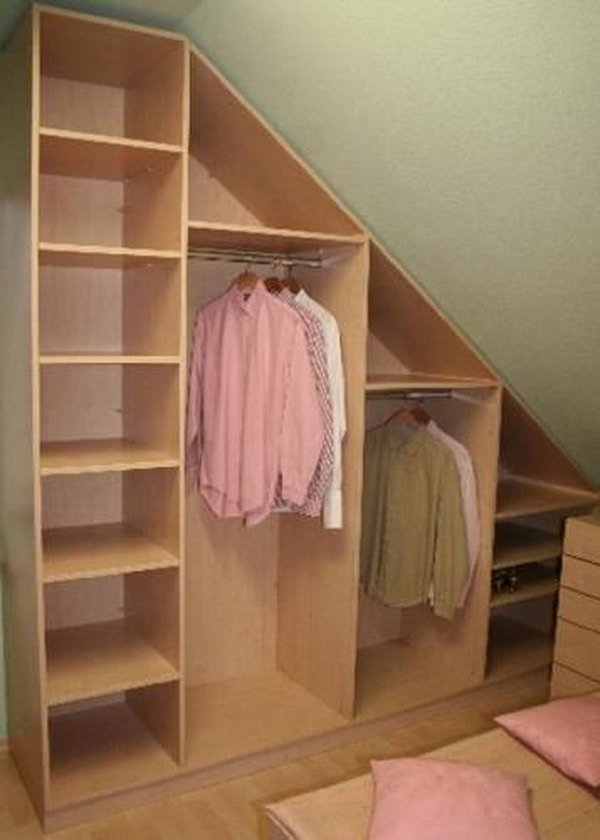 Closet Ideas For Attic Bedrooms Snakepress