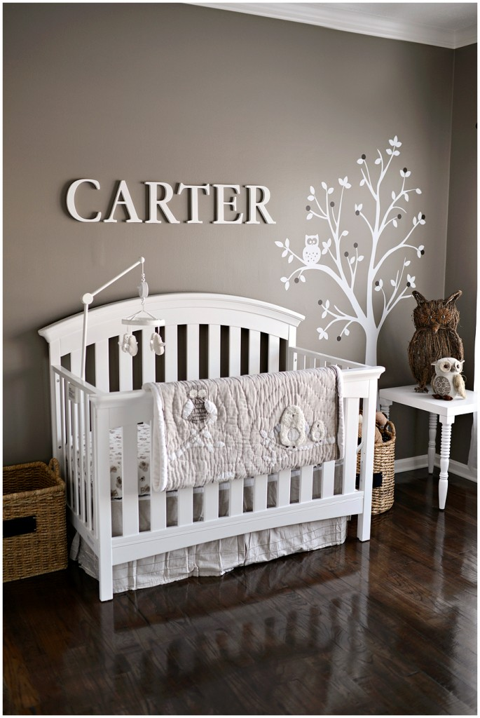 baby boy room with white furniture photo - 8