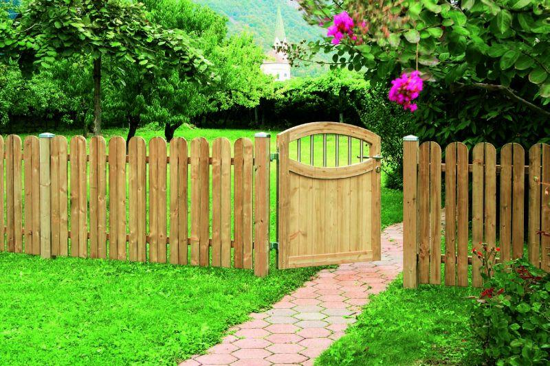 back garden fencing ideas photo - 4