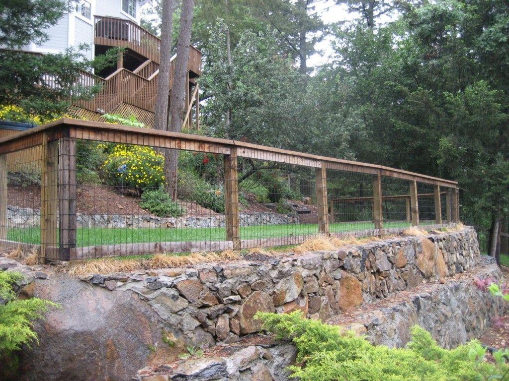back garden fencing ideas photo - 7